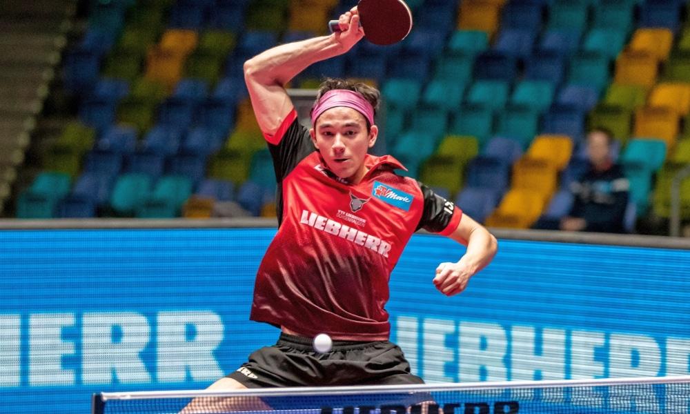 Hugo Calderano Tênis de Mesa ITTF Copa do Mundo