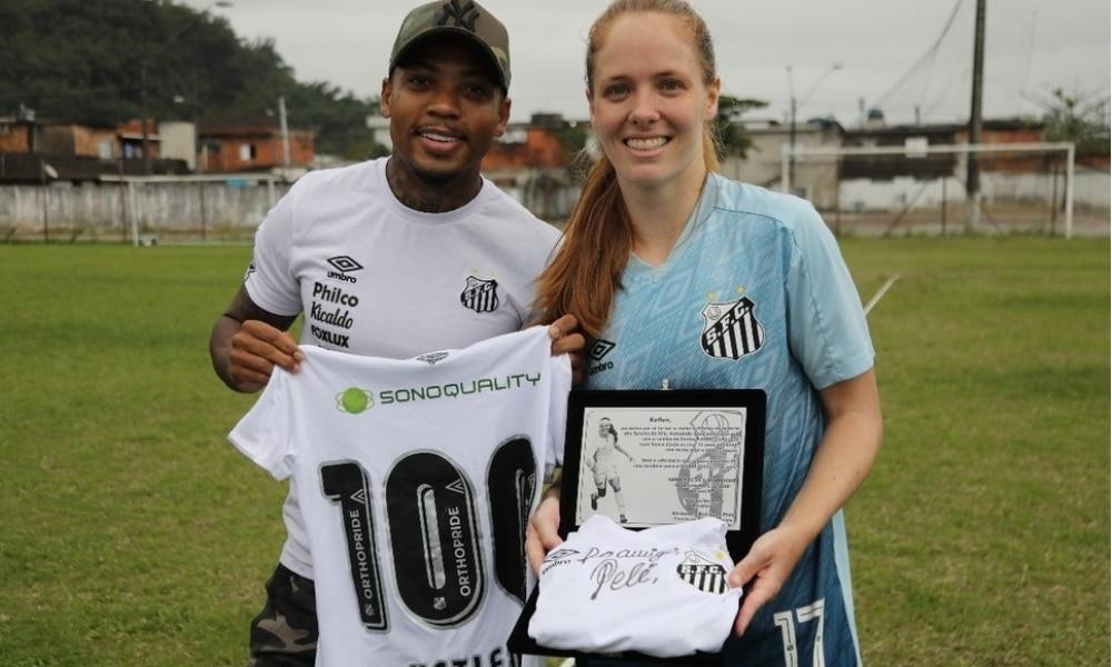Ketlen - Santos - Pelé - Marinho - 100 gols