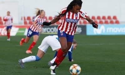 Campeonato Espanhol de futebol feminino - Atlético de Madrid - Real Madrid - Ludmila - Barcelona