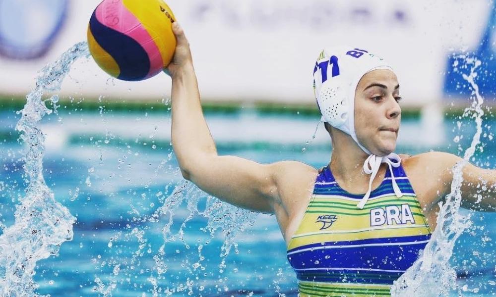 Mariana Rogê - Polo aquático feminino - CBDA