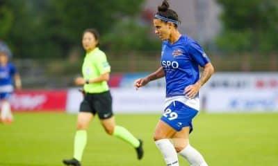 Nathane - KSPO - Coreanão de futebol feminino