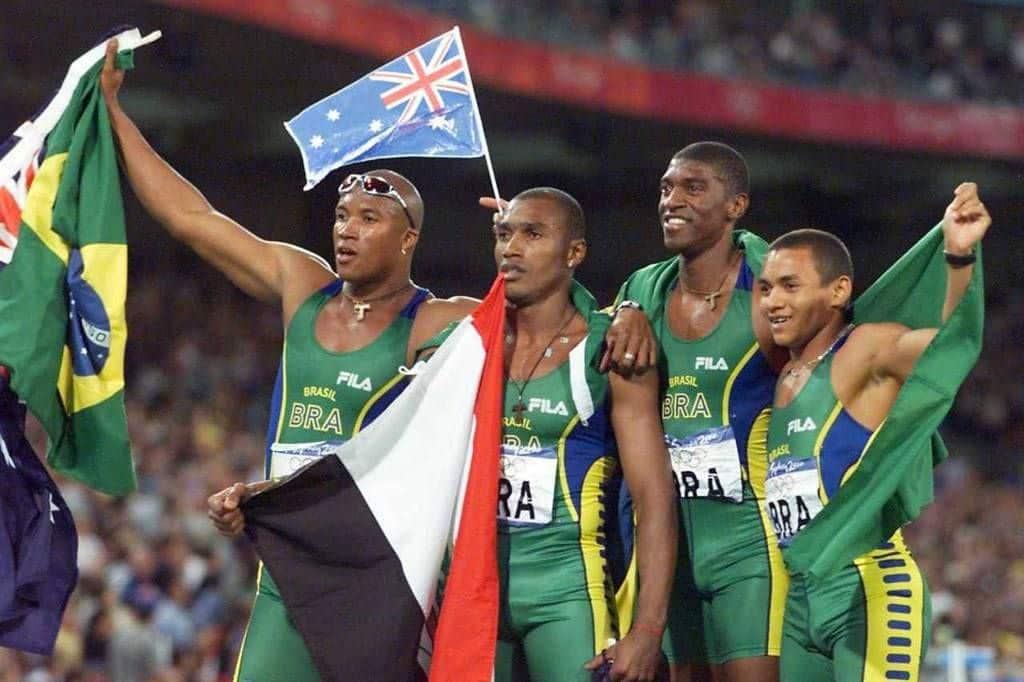Sydney-2000 4 x 100 atletismo