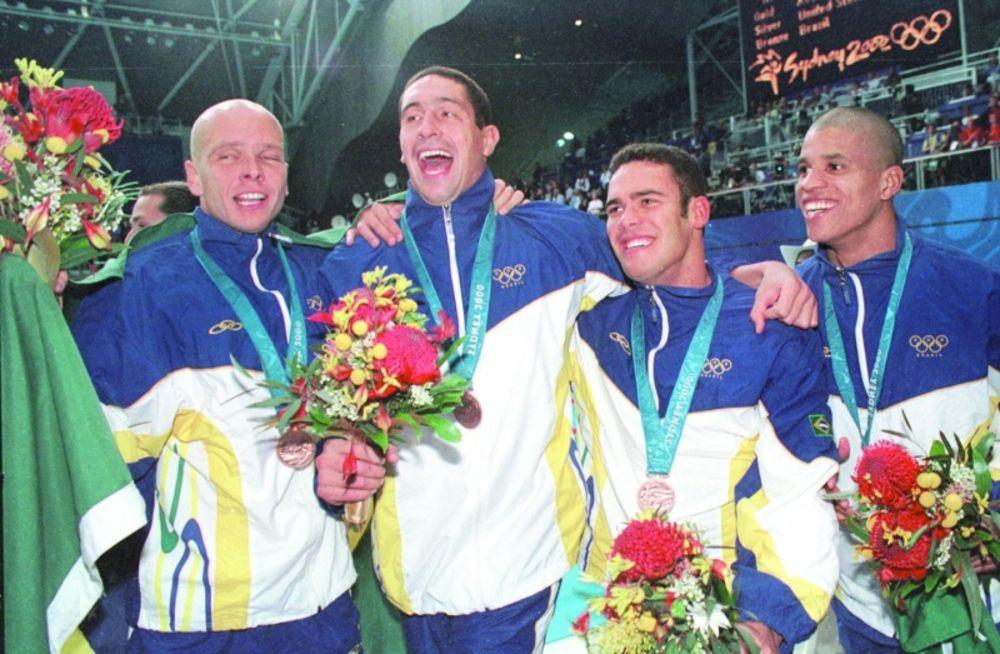 Sydney 2000 revezamento 4 x 100 livre Brasil