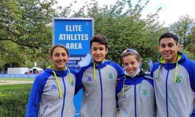Mundial de Triatlo - Vittoria Lopes - Luisa Baptista - Miguel Hidalgo - Manoel Messias _ Revezamento Misto