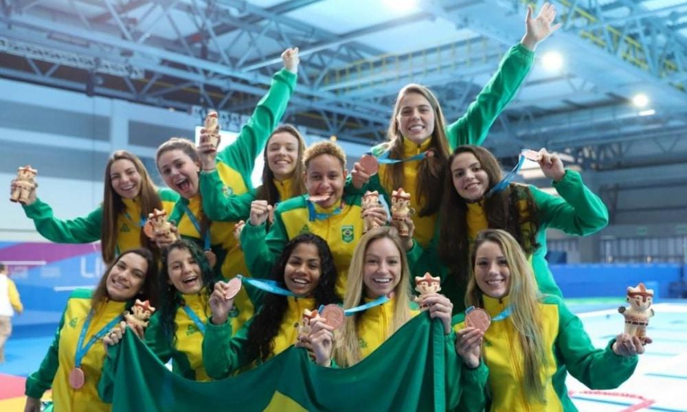 Seleção de polo aquático feminino