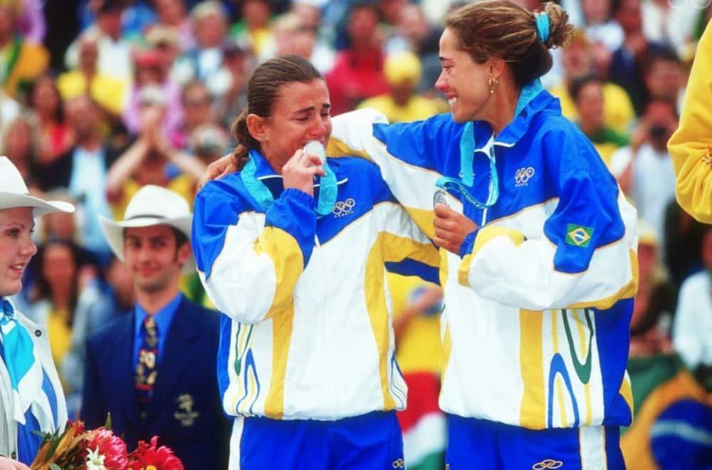 Sydney-2000 Shelda e Adriana Behar