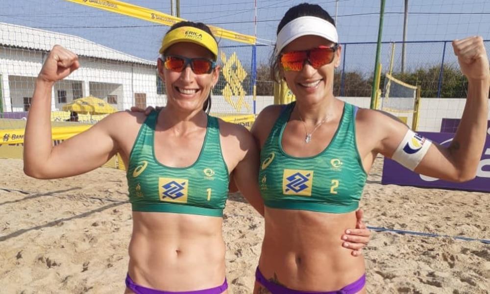 Érica Freitas e Thati Circuito Brasileiro Vôlei de Praia