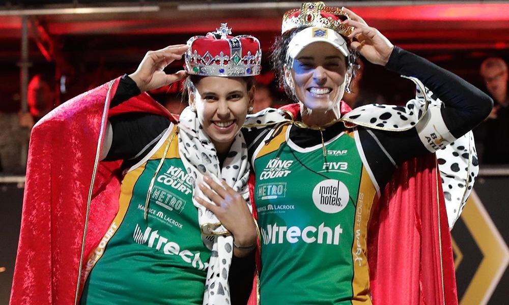 Ágatha/Duda Ágatha e Duda King of the Court circuito brasileiro de vôlei de praia
