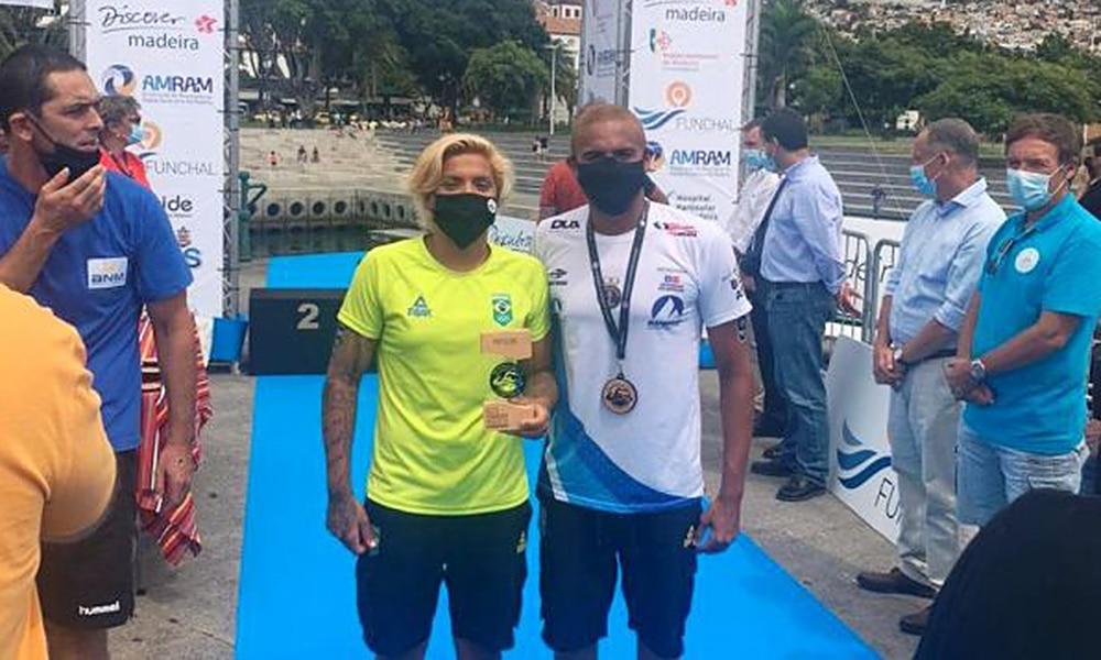 Ana Marcela Cunha Allan do Carmo maratonas aquáticas ilha da madeira francês
