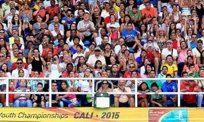 Cali,na Colômbia, será sede do Mundial de Atletismo Sub-20 de 2022
