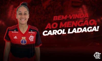 Carol Ladaga Flamengo futebol feminino