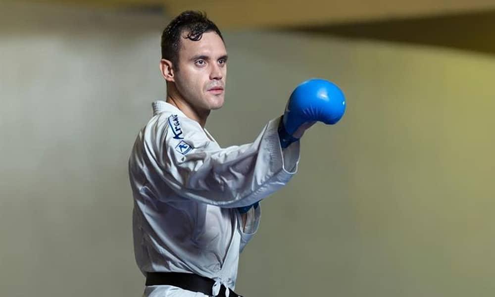 Douglas Brose seleção brasileira de caratê volta aos treinos