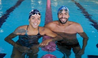 Ana Marcela Cunha e Allan do Carmo voltam a competir após sete meses