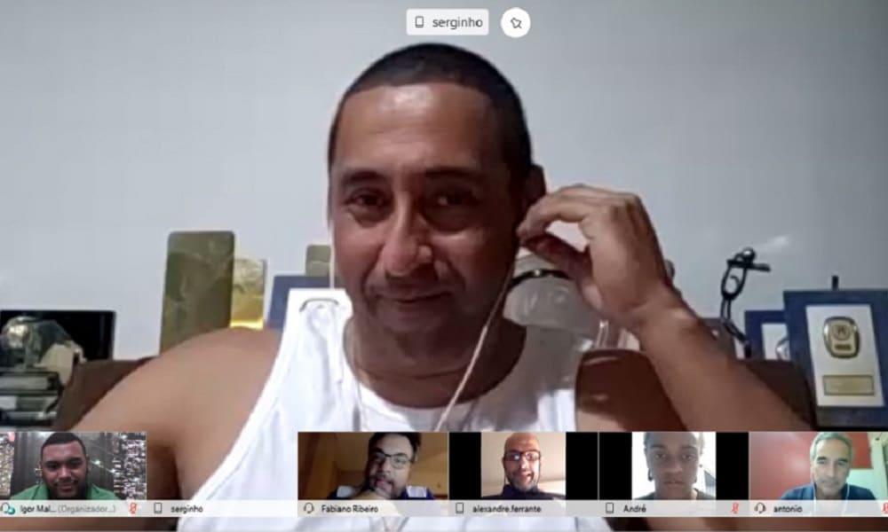Serginho participa de reunião de seleção sub-19