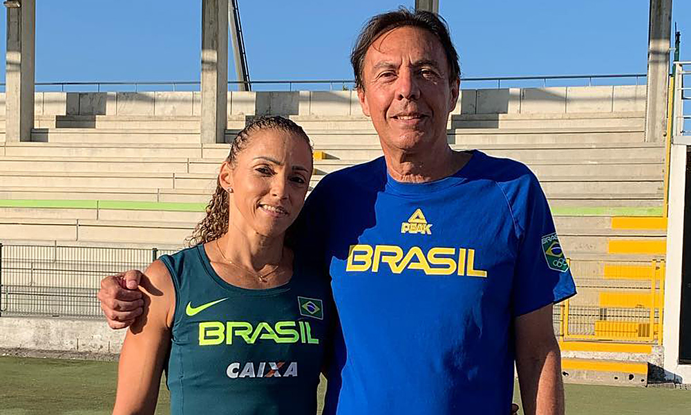 Geisa Coutinho Tóquio atletismo revezamento Carlos Alberto Cavalheiro