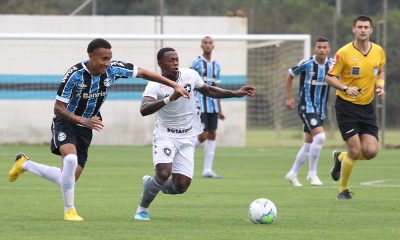 grêmio botafogo brasileiro sub-20