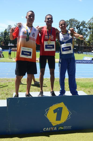 João Henrrique 400 m sub-18 atletismo