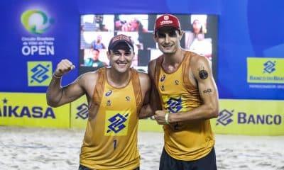 Atuais campeões brasileiros, André e Gerge estão na decisão da etapa