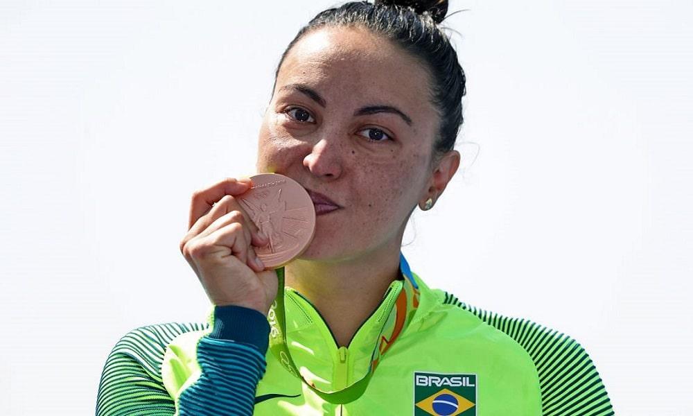 Poliana Okimoto maratona aquática Rio-2016