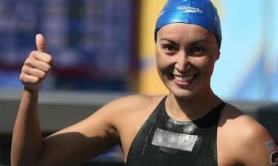 Poliana Okimoto lidera movimento em prol da natação feminina