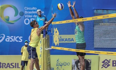 Quatro duplas fecham chave principal do Circuito Brasileiro de Vôlei de Praia