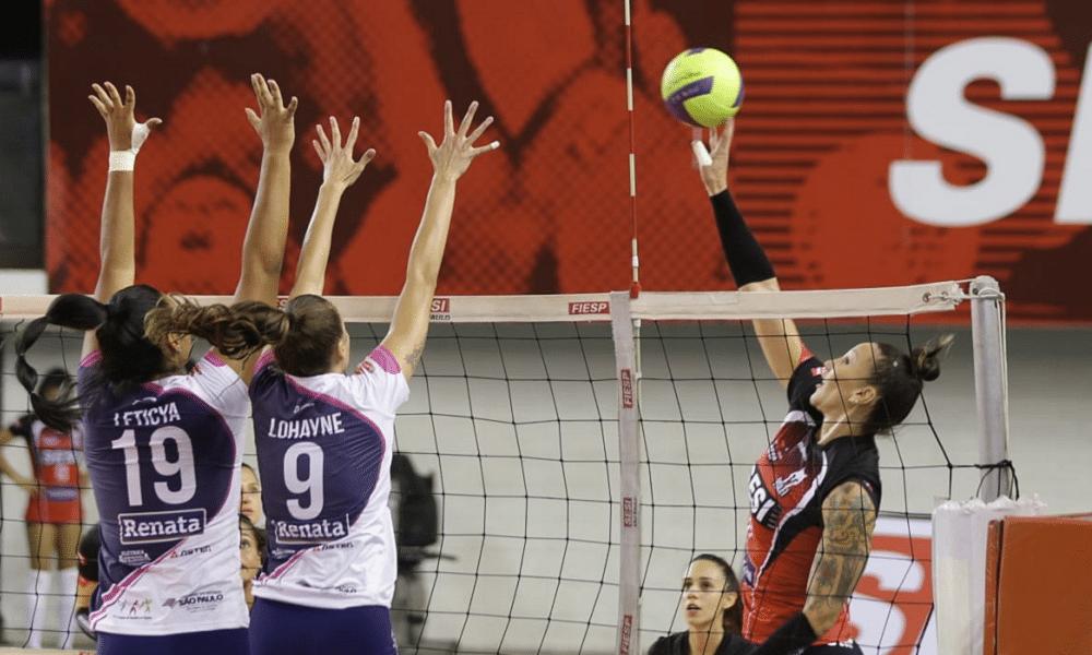 Osasco Sesi Bauru Paulista de vôlei feminino ao vivo
