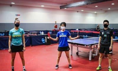 Equipe feminina do tênis de mesa do Brasil já está garantida nos Jogos Olímpicos de Tóquio Carol Kumahara Bruna Takahashi