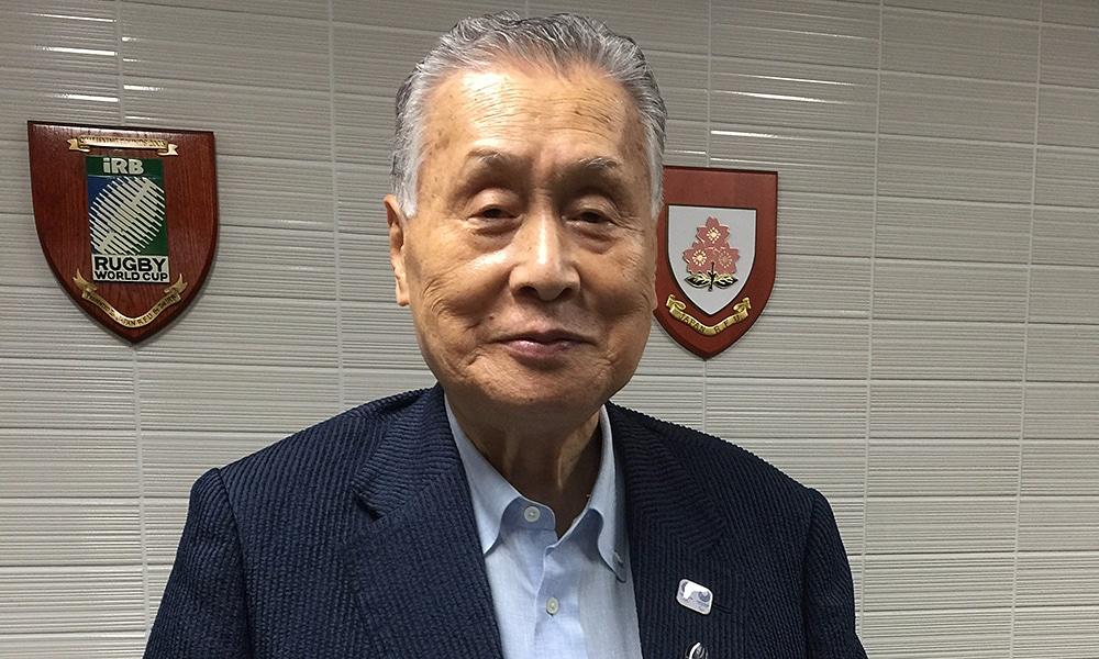 Yoshiro Mori Presidente do Comitê Organizador Jogos Tóquio 2020 Jogos Paralímpicos Jogos Olímpicos COI Tóquio