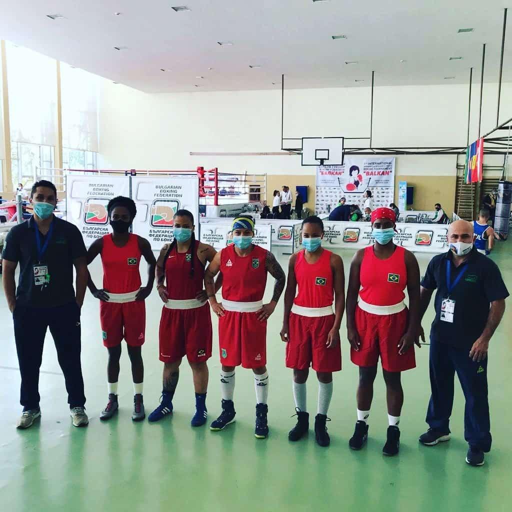 Torneio acabou sendo esvaziado por conta da pandemia do coronavírus boxe Beatriz Ferreira Torneio Internacional dos Balcãs