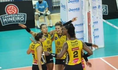 Pela 2ª rodada do Campeonato Mineiro de Vôlei feminino, o Dentil Praia Clube venceu o Brasília por 3 sets a 0 e decidirá o título com o Minas nessa quinta
