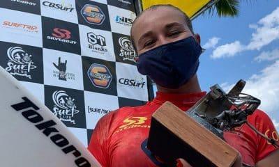 Bianca Summer venceu a etapa de Ubatuba