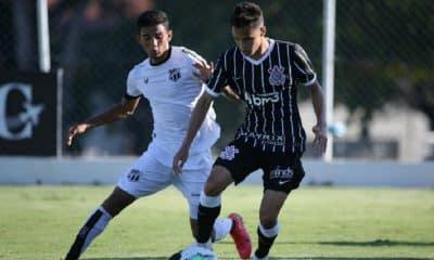 Corinthians vence Ceará de virada pelo Brasileiro sub-20