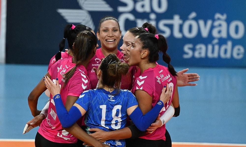 São José dos Pinhais x Osasco - Superliga feminina de vôlei