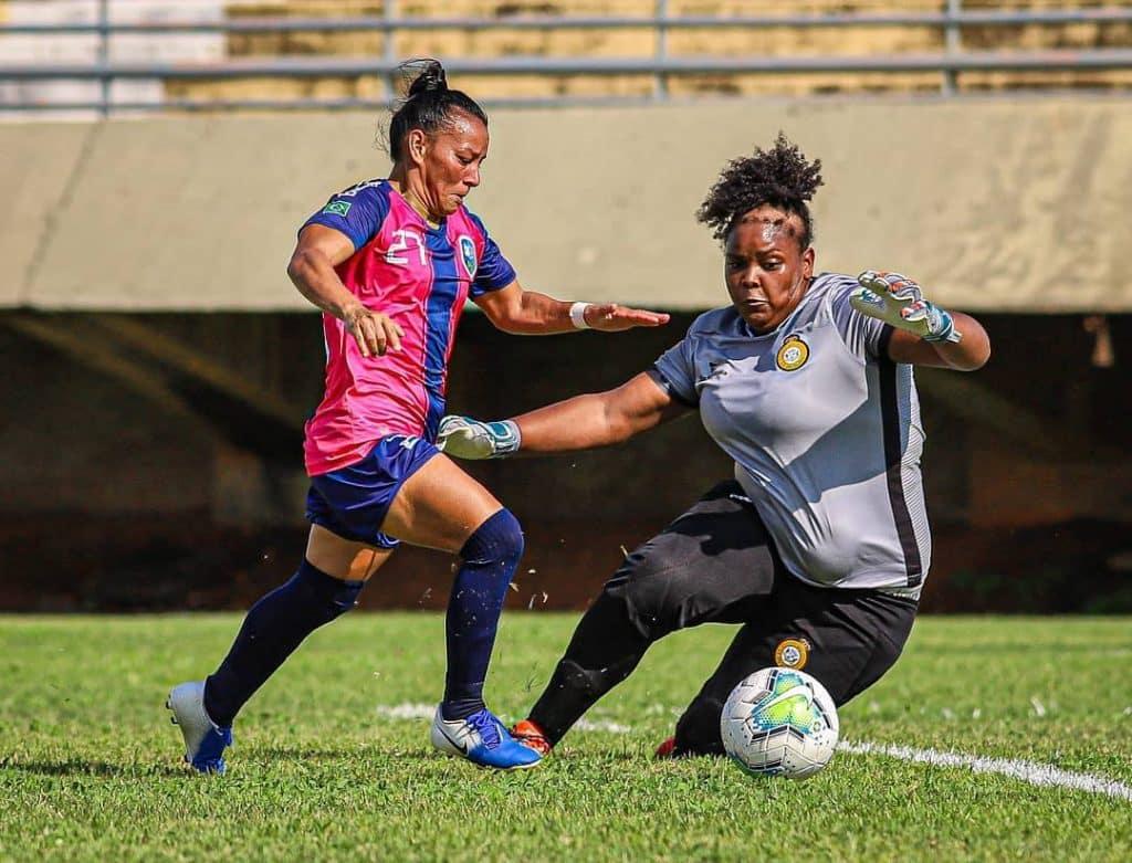 Dos seis jogos válidos pela 2ª rodada do Campeonato Brasileiro feminino A-2, cinco foram goleadas; houve também um empate