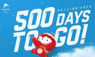 Celebração dos 500 dias para o início dos Jogos Paralímpicos de Inverno de 2022