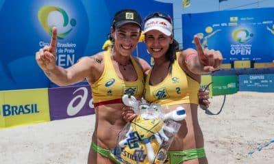Ágatha e Duda - Circuito Brasileiro de vôlei de praia - Josi/Juliana