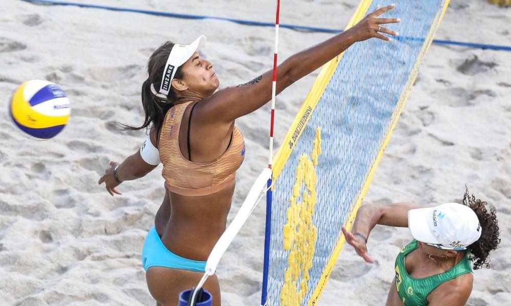 Ana Patrícia e Rebecca Jogos Olímpicos de Tóquio 2020 vôlei de praia