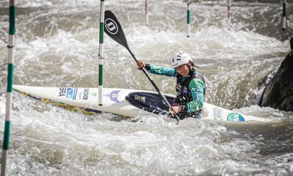Ana Sátila - Pepê Gonçalves - Missão Europa - Tóquio 2020 Ao vivo copa do mundo canoagem slalom Sérvia