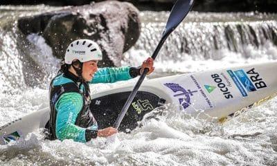 Ana Sátila - Pepê Gonçalves - Mathieu Desnos - Felipe Borges - Copa do Mundo de canoagem slalom
