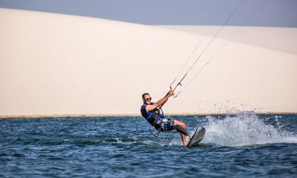 André Cintra realiza expedição de kitesurf em lugares inexplorados do Maranhão