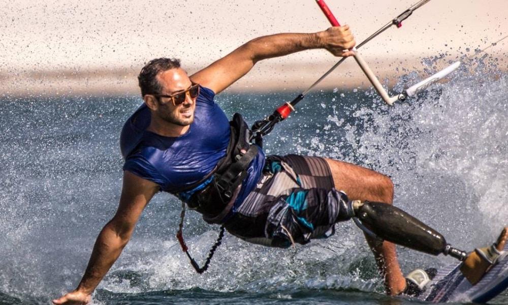 André Cintra está impedido de treinar Snowboard por conta da pandemia