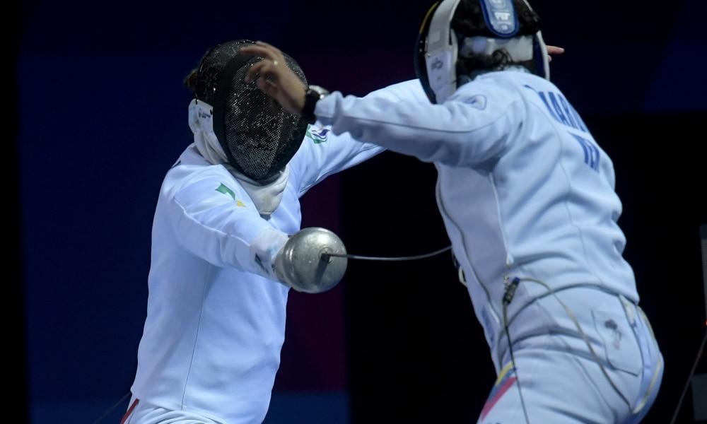 Athos Schwantes Alexandre Camargo Fabrizio Lazaroto - Missão Europa Pré Olímpico bolha sanitária treinos esgrima
