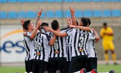 Atlético-MG e América-MG - Atlético-MG - América-MG - Campeonato Brasileiro Sub-20