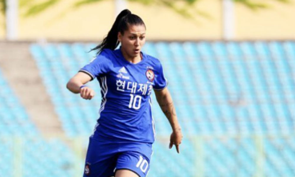 Bia Zaneratto - Wuhan - Campeonato Chinês