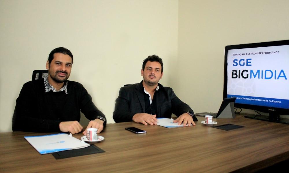Zac Zappellini e Daniel de Carvalho Esporte Olímpico Tecnologia Informação