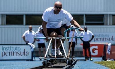 Bobsled e Skeleton do Brasil em treinamento