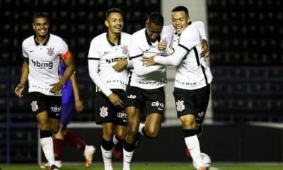 Corinthians e Ceará - Corinthians - Ceará - Campeonato Brasileiro Sub-20