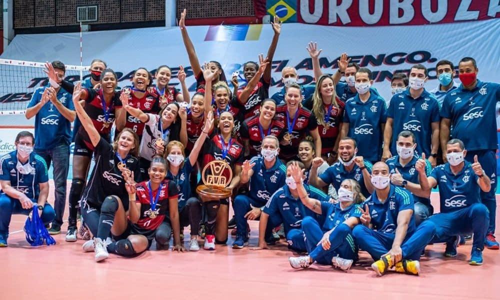 Flamengo x Fluminense - Carioca feminino de vôlei