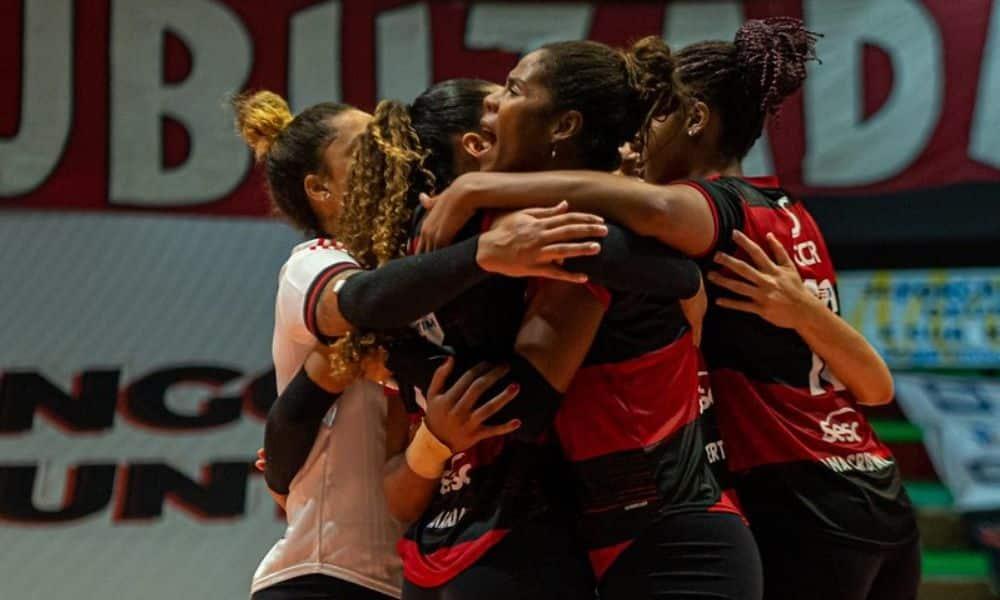 Flamengo x Praia Clube - Su