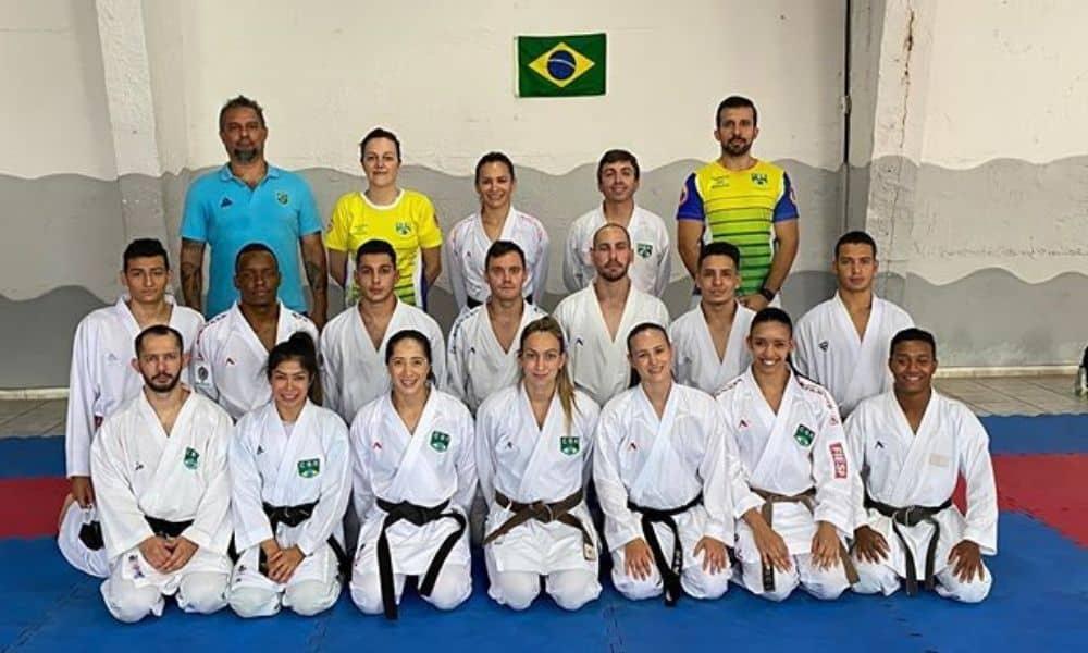 Douglas Brose seleção brasileira de Caratê